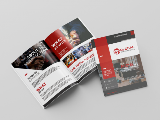 Fiftyfive Global Communications brochure